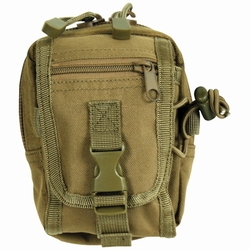 Multi-Purpose Accessory Pouch: Coyote Brown