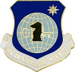 Military Pin: U.S. Air Force Intel Agency