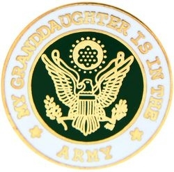 Military Pin: U.S. Army G'daughter