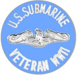 Military Pin: U.S. Navy WWII Vet SI