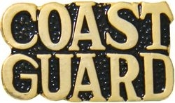 Military Pin: U.S. Coast Guard Gold