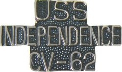 Military Pin: U.S. Navy USS Independence
