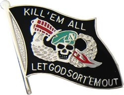 Military Pin: U.S. Kill'em All