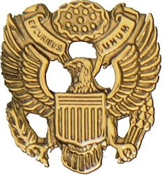 Military Pin: U.S. Army Seal Gold
