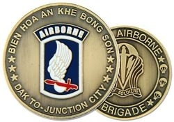 Challenge Coin: 173rd A/B Div.