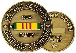 Challenge Coin: VN Welcome Home