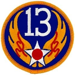 Military Patch: 13th Air Force