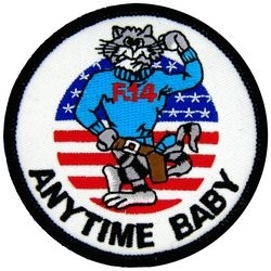 Military Patch: F-14 Tomcat