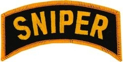 Military Patch: Sniper (Lg)