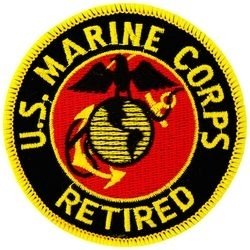 Military Patch: USMC Retired