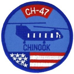 Military Patch: CH-47 Chinook
