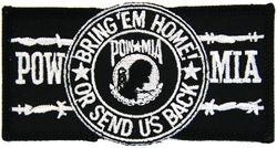Military Patch: Bring'Em Home