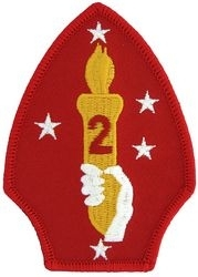 Military Patch: USMC 2nd Marine