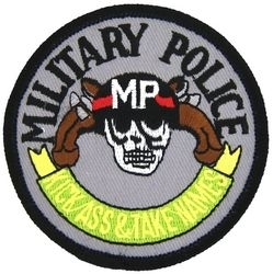 Military Patch: Military Police
