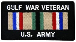 Military Patch: Army Gulf War Veteran