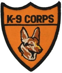 Military Patch: K-9 Corps