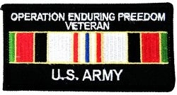 Military Patch: Enduring Freedom Vet