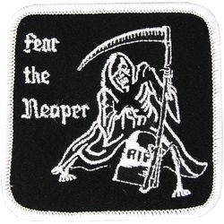 Military Patch: Fear the Reaper