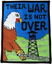 Military Patch: Their War Is Not Over