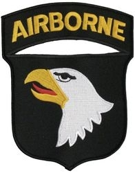 Military Patch: 101st Airborne  Large
