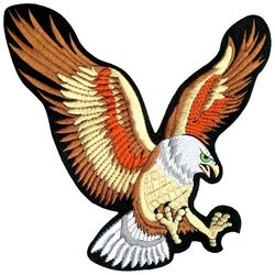 Military Patch: Flying Eagle