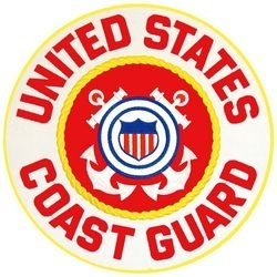 Military Patch: U.S. Coast Guard  Large