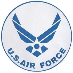 Military Patch: USAF  Large