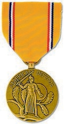 Military Medal: American Defense Service