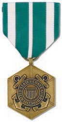 Military Medal: USCG Commendation