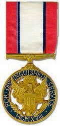 Military Medal: USA Distinguished Service