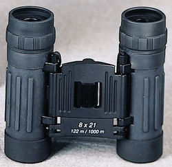 Binoculars: 8 x 21MM- Black