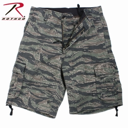 Military Shorts: Vintage Infantry Utility Tiger Stripe