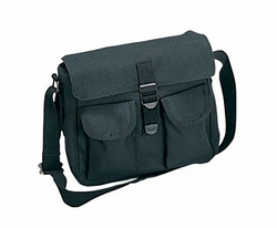 Shoulder Bag: Canvas Ammo Black