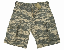 Military Shorts: Vintage Paratrooper Army Digital