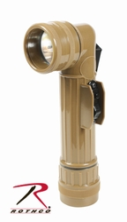 Flashlights: G.I. Type Angle Head- Coyote Brown