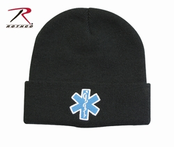 Embroidered Watch Cap-Star of Life