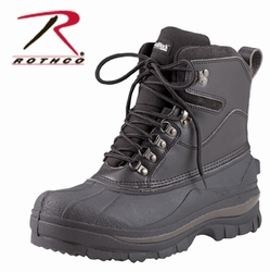 Cold Weather Hiking Boot- Black