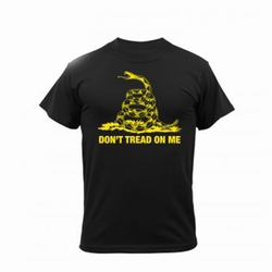 Don't Tread on Me-Black