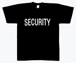Security Double Sided Raid T-Shirt