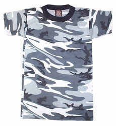 Kids Camouflage T-Shirt  City Camo