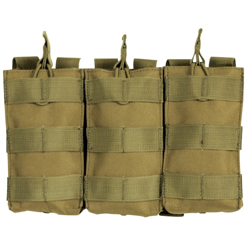 M4 90 Round Quick Deploy Pouch: Coyote Brown