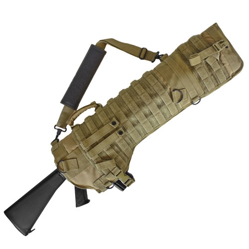 Tactical Assault Rifle Scabbard: Coyote Brown