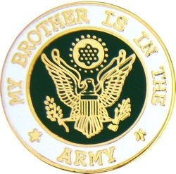 Military Pin: U.S. Army Brother