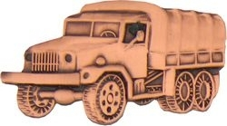 Military Pin: U.S. Army Truck