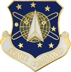 Military Pin: Space Command