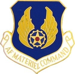 Military Pin: U.S. Air Force Material Cmd