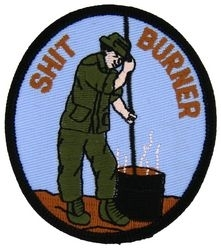 Military Patch: Shit Burner