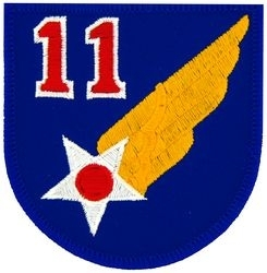 Military Patch: 11th Air Force