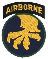 Military Patch: 17th Airborne Division