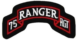 Military Patch: 75th Ranger Regiment
